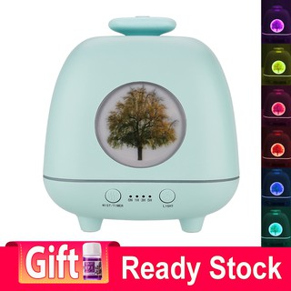 Season Elf Aroma Essential Oil Diffuser Air Humidifier with 4 Spray Ports