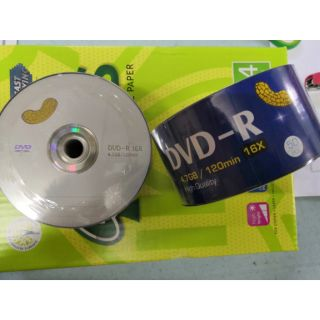 DVD-R empty recordable dvd 16x 50pcs perpack 4.7gb/ 120min for burning