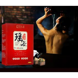Man and medicated bath Chinese medicine bath sweat steaming medicated bath fumigant