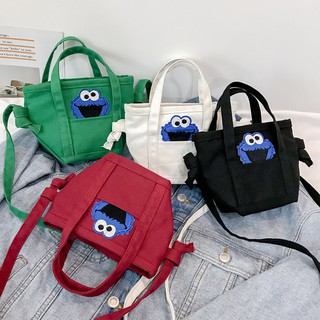 elmo Seasame Street Elmo Sling Bag Shoulder Korea Korean Style Hip Hop
