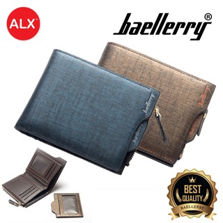 [Buy 2 Free Shipping]Baellerry 9 Card Holder Coin Men Purse Leather Wallet