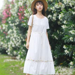 Cute Summer White Dress for Women
