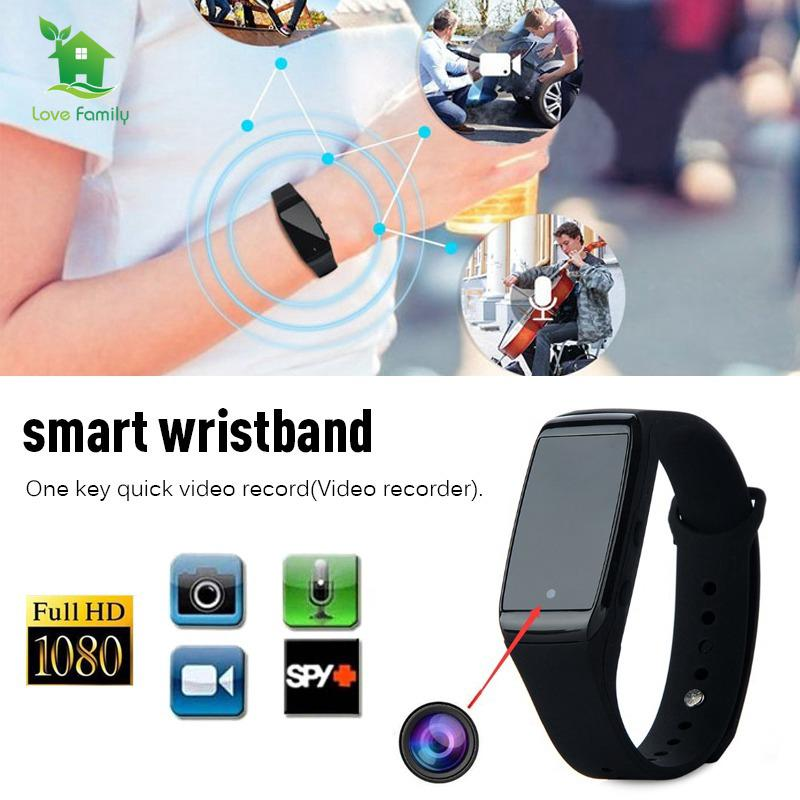 Spy Wrist Watch 1080P HD Video Hidden Spy Mini Camera DVR Recording Watch