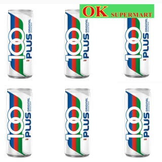 【6 Cans】100 Plus Can 325ml