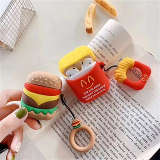 Cartoon Wireless Bluetooth Earphone Case For Apple AirPods Silicone Charging Headphones Cases Protective Cover