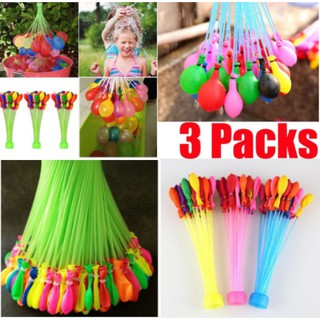 111PCS/Set Magic Tied Water Balloons Bombs Qucik-fill Kids Party Toys Mixed Color Party Toys