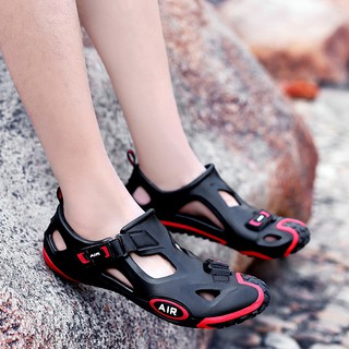 Ready Stock Size 35-45 Men Women Sandal Outdoor Hiking Sandals Breathable Beach Water Sport Sandals
