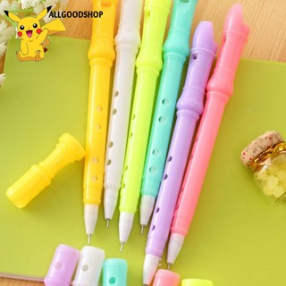 0.5MM Unique Lovely Clarinet Gel Pens Student Stationery Pen Office Supplies