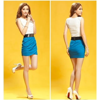 Ready Stock Clearance Sleeveless Bodycon Dress -Premium Quality