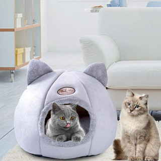 Dog Cat Bed Pet Warm Plush Sleeping House Nest Bedding