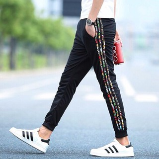 READY STOCK Plus size S-5XL Korean Sweatpants Jogger Men Long Pants Casual Gym