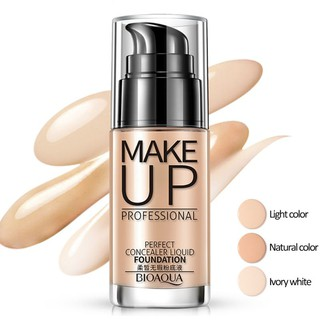 Hot BIOAQUA Face Foundation Makeup BB Cream Concealer Whitening Moisturizer