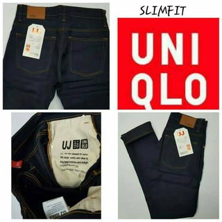 jeans UNIQLO slimfit for men high quality