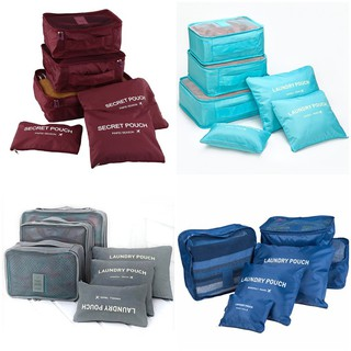 6 in 1 Clothes Storage Bags