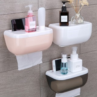 Ready stocktoilet paper storage box health toilet paper towel home living bath accessories