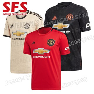 Top Quality Manchester United Football Jersey Tshit Men 19/20