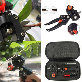 Pro Garden Trees Fruit Grafting Pruning Shears Scissor Cutting Tools Suit Set