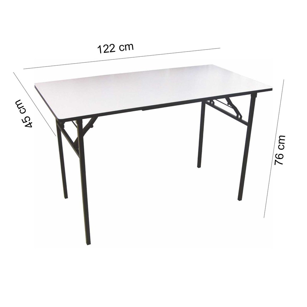 JH Banquet Table / Folding Table (120 x 45 x 76cm)