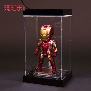 Marvel Superhero Avengers EGG MK43 Jarvis Iron Man Hand Joint Joint Movable Doll