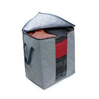 Foldable Storage Bag Clothes Blanket Organizer Box Pouch