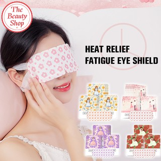 ReadyStockInMalay🇲🇾Steam Hot Compression Eye Mask Eyes Relieve Fatigue Disposable Eye Relaxation Sleep Eye Masks