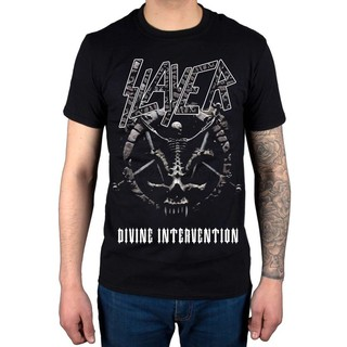 Slayer Divine Intervention 2019 Dates Fitness Men's T-shirt Plus Size Christmas Gift