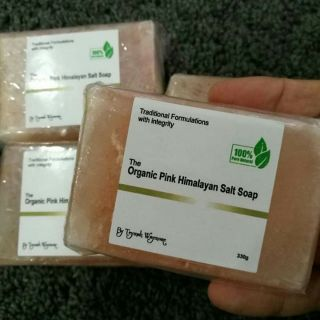 The Organic Pink Himalayan Salt Soap by Teymah Waymore