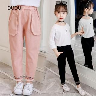 gorgeous Children Girls Fashion Pants High material Baby Kids Boys Casual Trousers Comfortable Children Long Pants Com