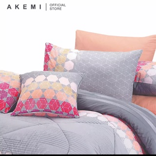 Akemi 100% Cotton Essentials 700TC Fitted Sheet With Comforter Set