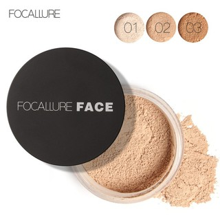 FOCALLURE 3 Colors Loose Setting Powder