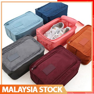 Local StockSports Shoes Bag Waterproof Foldable Shoe Box Travel Portable Storage Shoe Pouch