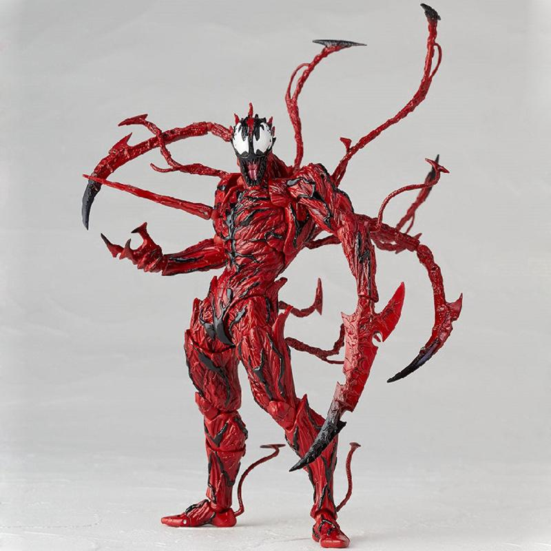 Marvel Comics Collection Yamaguchi Series SpiderMan Carnage Action Figure