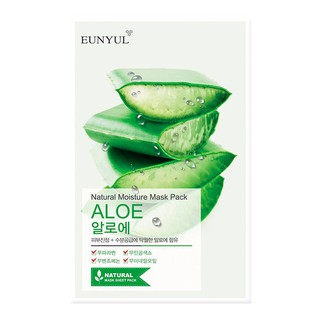EUNYUL Natural Moisture Mask Pack - Aloe
