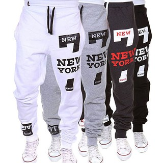 Mens Joggers Male Trousers Men Pants Casual Pants Sweatpants Jogger Black M- XXXL