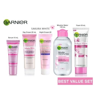 Garnier Female Sakura White range