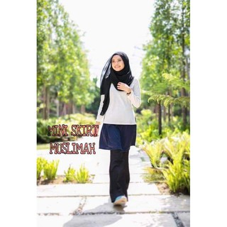 [READY STOCK] MINI SKIRT MUSLIMAH SKIRT EXTENDER