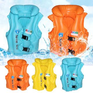 New Children Inflatable Swim Vest  Baby Kid Life Jacket Summer Beach Tourism Swimming Aid Water Sports