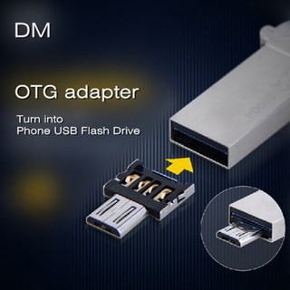 DM USB to Micro USB Male OTG Adapter for USB Flash Driver / Phone / Tablet