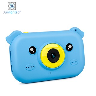 Digital cameras-New children's camera 2.4 inch HD large screen anti-fall children take pictures gift gifts