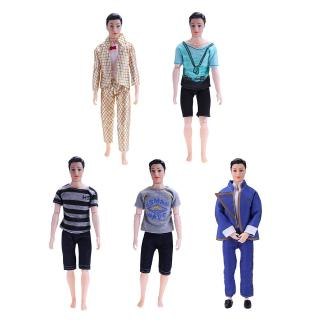 Fashion Boys Prince Doll Clothes Suit Casual Cool Outfits Toy