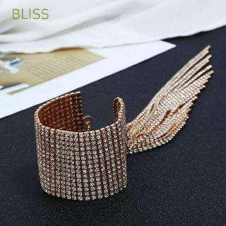 BLISS for Women Bridal Jewelry Tassel Luxury Bracelet