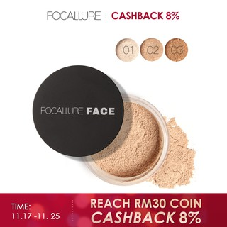 FOCALLURE Loose Setting Powder - 3 Colours
