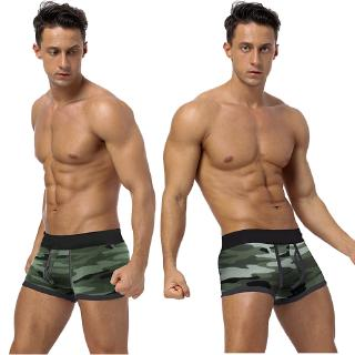 Boxer Shorts Fashion CamouflageMen's Underwear