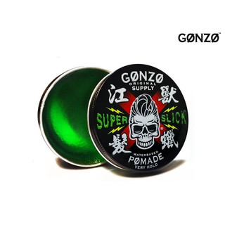 GONZO SUPER SLICK - WATER BASED POMADE + GIFT