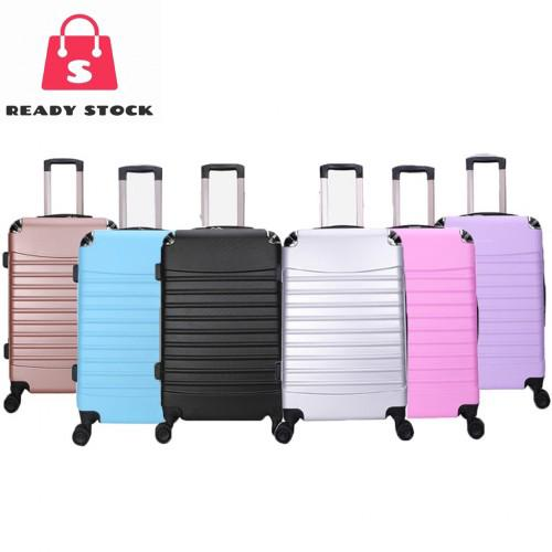 SRS ABS Plain Travel Luggage - 7 Colours