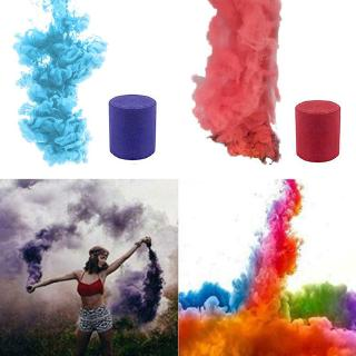 Smoke Cake Colourful Smoke Effect Show Round Bomb Stage Photography Aid Toy