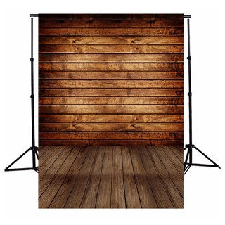 [Wholesale] Lightweight 5x7FT Retro Wooden Floor Wall Photography Backdrop