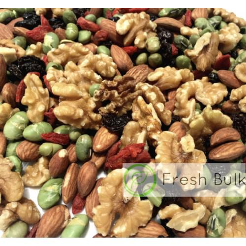 Limited Time Offer! Fresh Bulk Walnut Genius Trail Mix (150g) value pack