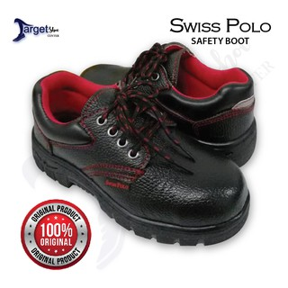 Original Swiss Polo Safety Boot/Shoe Low Cut Safety Boot