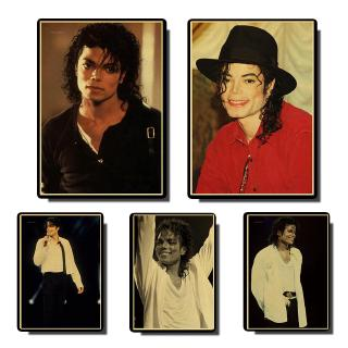 Michael Jackson classic poster vintage posters Prints Wall Painting high Quality Decor Poster Wall Painting Home